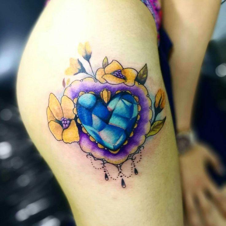 Tattoo diamante