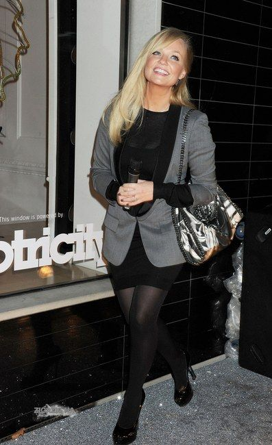 Former Spice Girl Emma Bunton was spotted with Stella McCartney's Triple Lapel Jacket. It's on the pricier side of $700 from Saks Fifth Avenue, but we found an alternative for much less at Revolve Clothing for $101. That's huge savings for a fashionista that's on a smaller budget.