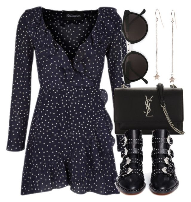 """""""Untitled #6944"""" by laurenmboot ❤ liked on Polyvore featuring Yves Saint Laurent, Givenchy and RetroSuperFuture"""