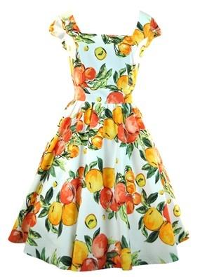 Espadrilles vintage semelles orange