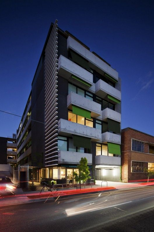 Harper Lane Apartments / McAllister Alcock Architects in collaboration with Neometro | ArchDaily