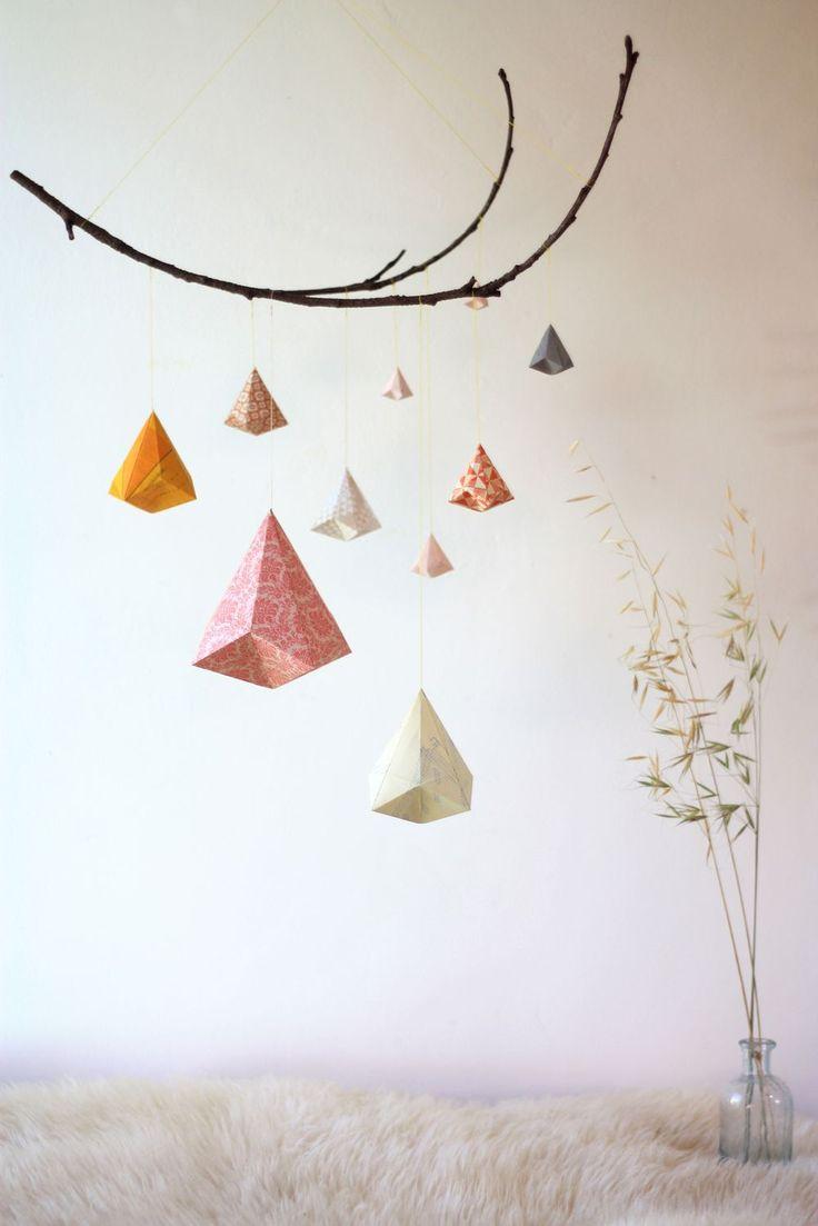 Sophie Morille Mobile origami