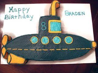 Submarine Cake
