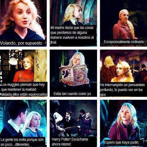 Frases de Luna Lovegood
