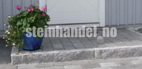 Granitt Kantstein 8x20 Råhugd