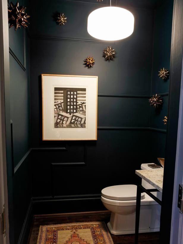 Small Dark Bathroom Ideas Lovely Modern Bathroom Design Ideas Tips From In 2020 Half Bathroom Decor Small Dark Bathroom Stylish Bathroom