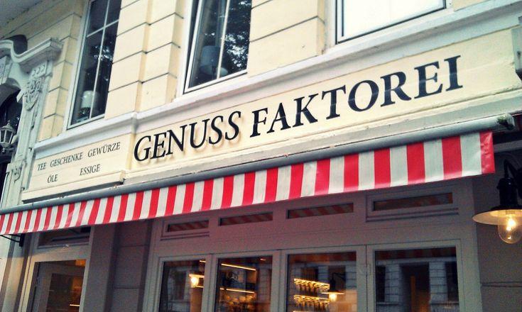 Genussfaktorei, Hamburg Hier gibt es Leckereien vom Feinsten! Zu finden in der Gertigstraße in Winterhude.