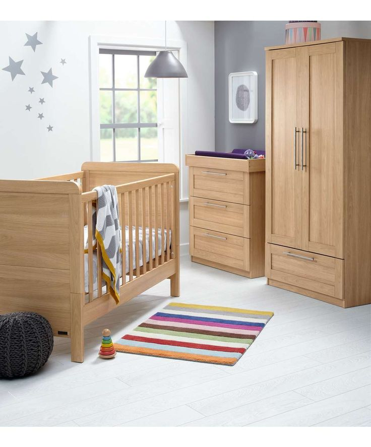 Rialto+ 3 Piece Set - Natural Oak | Furniture Sets | Mamas & Papas