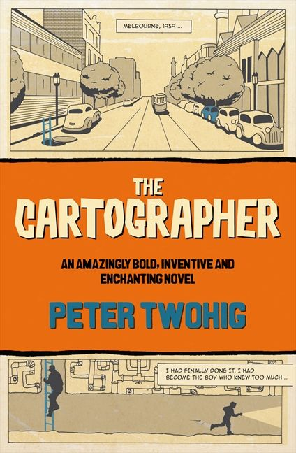Lisa's review of The Cartographer, her favourite book for the year so far