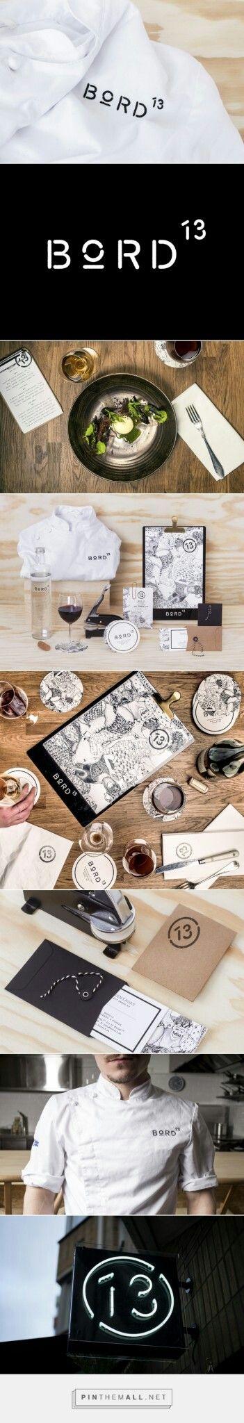 Bord 13 Branding by Snask| Fivestar Branding – Design and Branding Agency & Inspiration Gallery