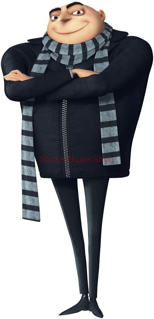 GRU Despicable Me Movie Decal Removable Wall Sticker Home Decor Art Minions Kids   eBay
