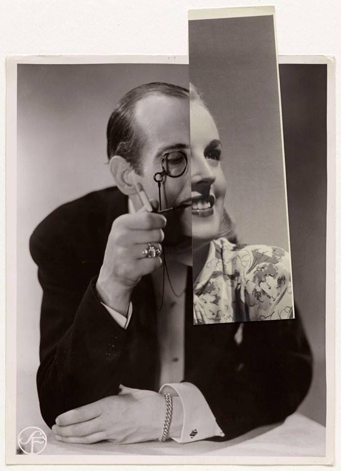 John Stezaker- colagem digital. A foto-montagem surge a meio da 1ª Guerra Mundial. Fazia uma crítica ao contexto socio-económico que alimentou esta mesma guerra (burguesia, capitalismo industrial)