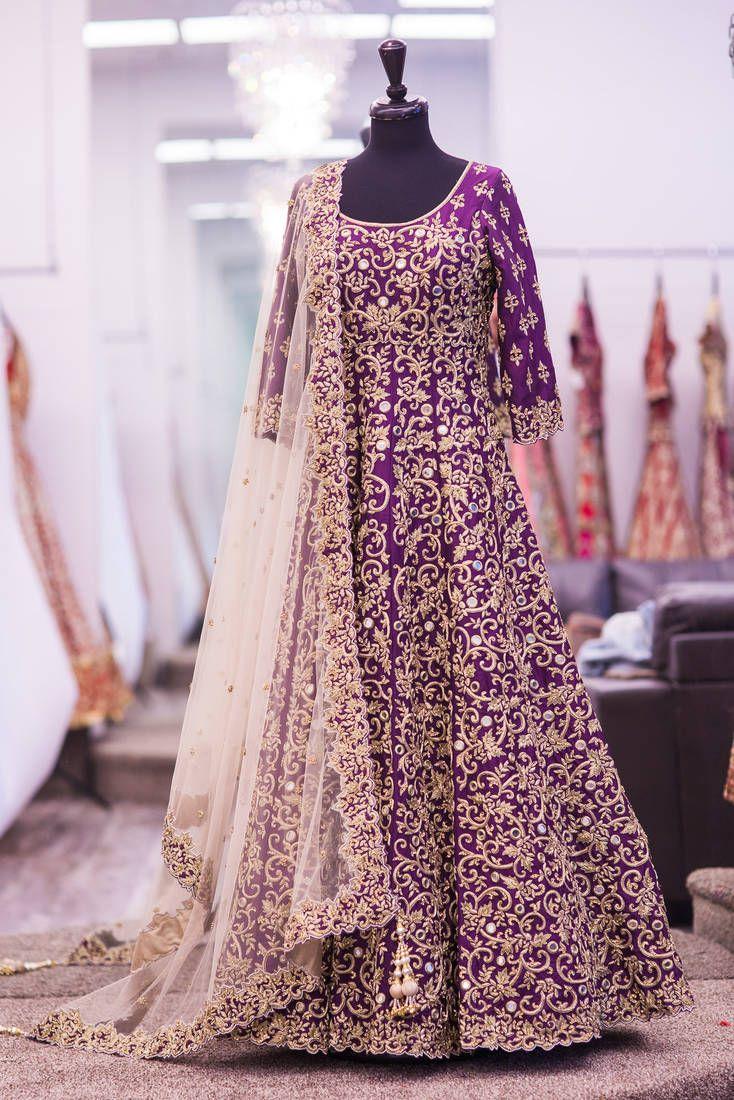 Designer Anarkali Suit online at Mirraw.