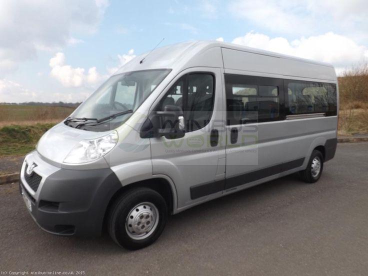Peugeot Boxer 17 Seat Lightweight Minibus for sale | Minibus World