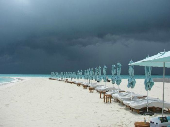 Maldives weather tropical climate with abundant rainfall