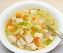 Chicken, Vegetable & Noodle Soup