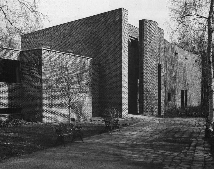 St Mark's Parish Church, Björkhagen, Stockholm, Sweden, 1956-64 Sigurd Lewerentz