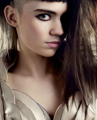 Grimes..one of my favorite musicians.