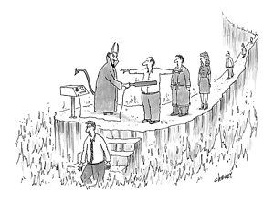 Tom-cheney Drawing - New Yorker March 7th, 2005 by Tom Cheney
