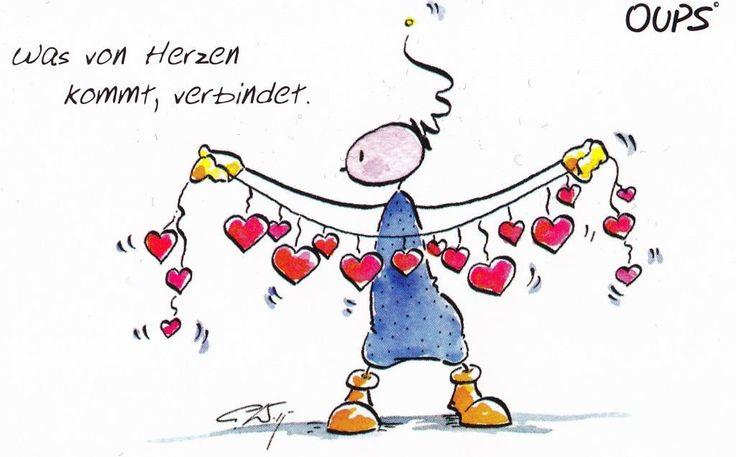 Was von Herzen kommt, verbindet. ~ www.werteART.com Für eine liebenswerte Welt  http://www.oups.com/shop/oups.html https://www.facebook.com/oupsig/