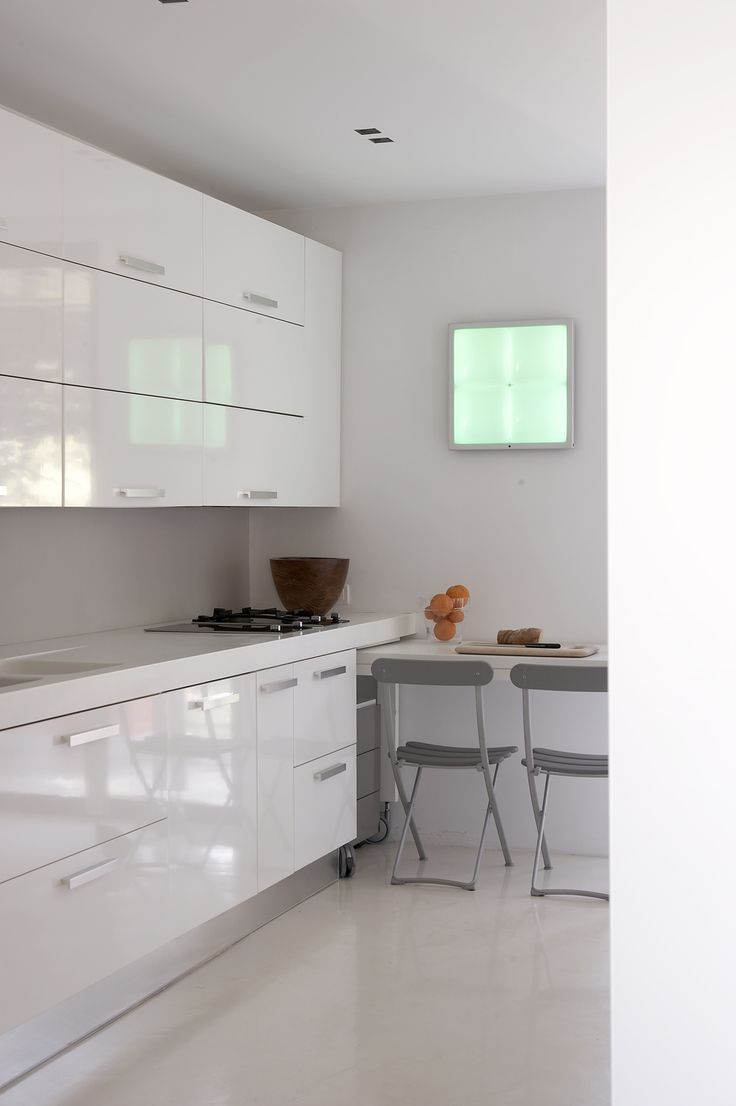apartment dressed in white | eDje architects | athens Greece | kitchen