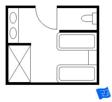 17 best images about master bathroom floor plans on for His and hers bathroom floor plans