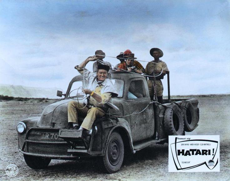 hatari | john wayne elsa martinelli hatari