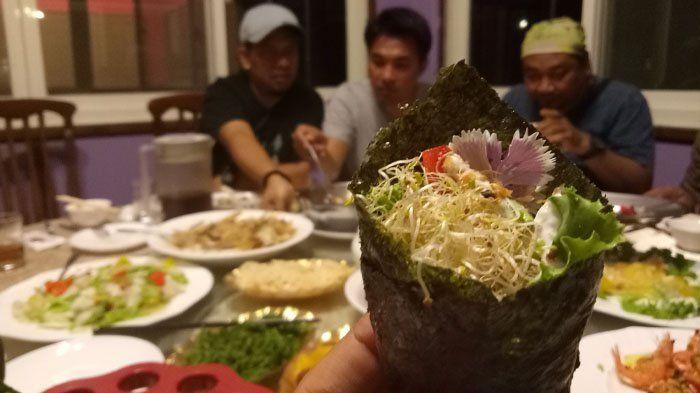 Disuguhi Beragam Menu Unik, Sushi Bunga di Tai Yi Hanya untuk Si Petualang Sejati