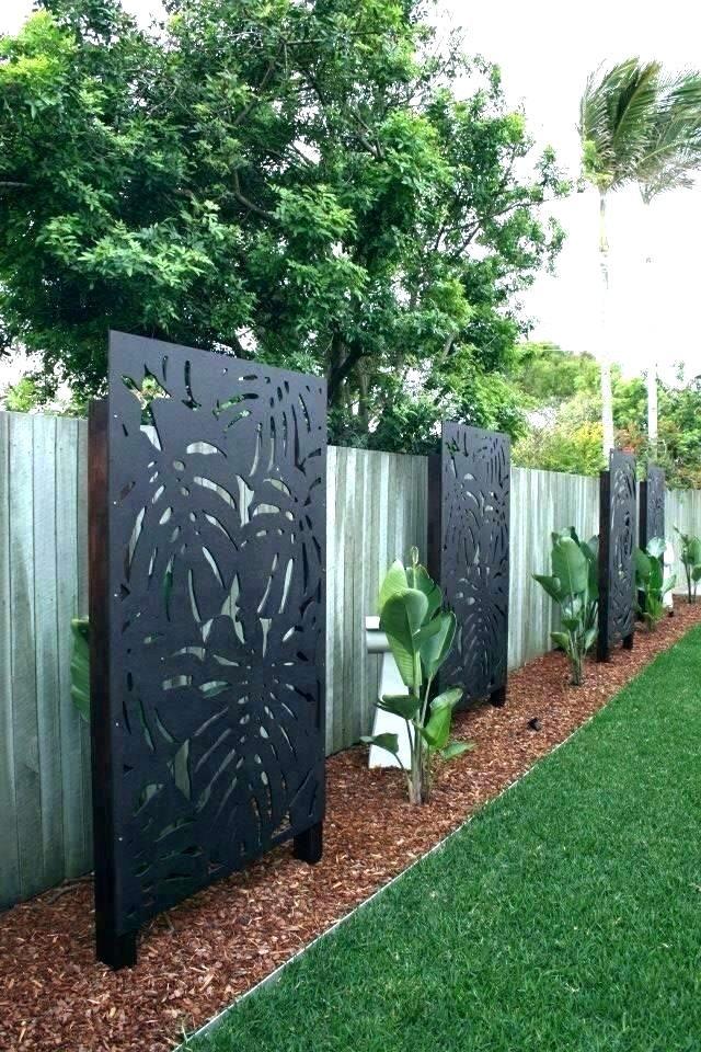 30 Backyard Garden Fence Decor Ideas Gardenholic Garden Privacy Screen Garden Privacy Small Backyard Landscaping