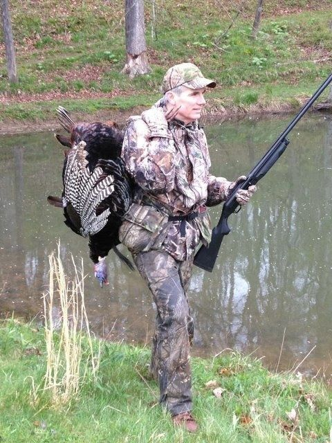 Is Rob Portman ready to be Mitt Romney's vice president? He does have experience carrying a turkey on his back.