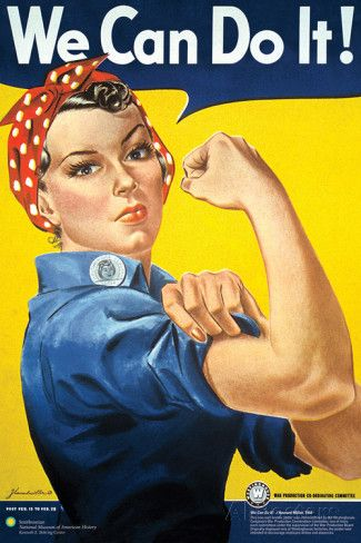 Smithsonian- Rosie The Riveter Print at AllPosters.com