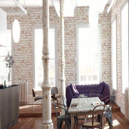 Die besten 25+ Tapete steinoptik Ideen auf Pinterest Steinoptik - wohnzimmer tapete modern