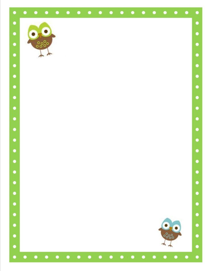 Cute owl blank that's perfect for your owl themed classroom. Great for printing your schedule, roster newsletter, etc.
