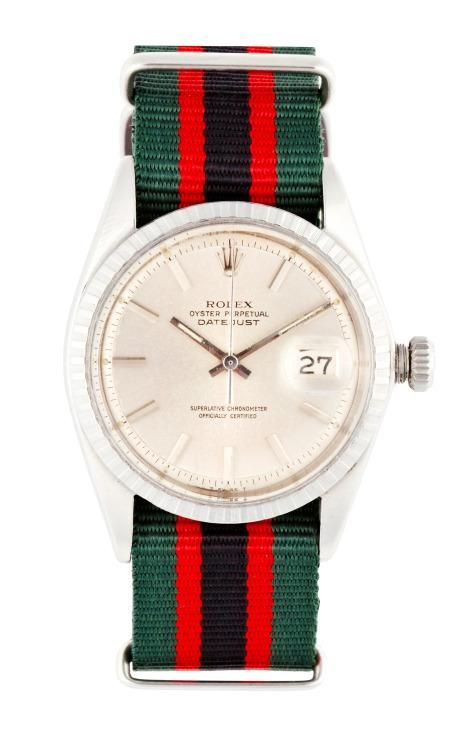 Vintage Rolex Stainless Steel Datejust With Silver Dial by CMT Fine Watch and Jewelry Advisors for Preorder on Moda Operandi