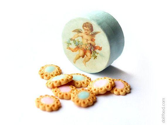 Angelic Cookies - Dollhouse Miniature Food
