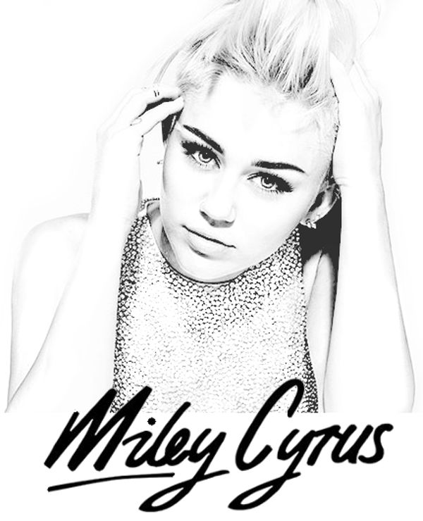 Coloring Page Miley Cyrus http://topcoloringpages.net/famous/miley-cyrus/