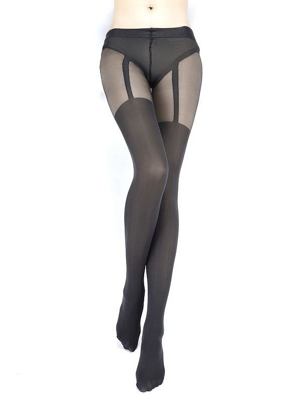Sexy Dark Grey Tights: Tights Sheinside, Cats, Grey My, Pants Tights Trousers, Chic Sheinside, Grey Tights, Grey Suspender, Suspend Tights, Dark Grey