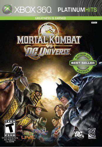 Mortal Kombat vs DC Universe - Xbox 360 Game