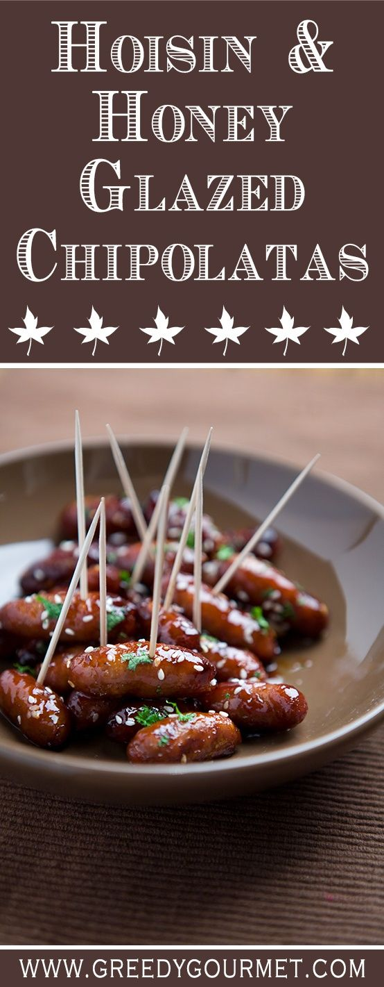 Once you've had Hoisin & Honey Glazed Chipolatas, you'll never go back again to plain and boring old sausages.