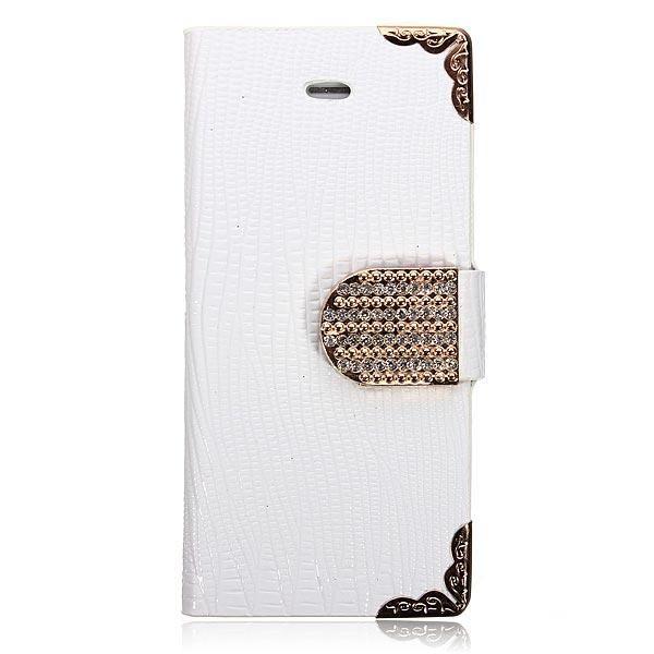 FoneBitz - iPhone 5/5s luxury diamond detail wallet case