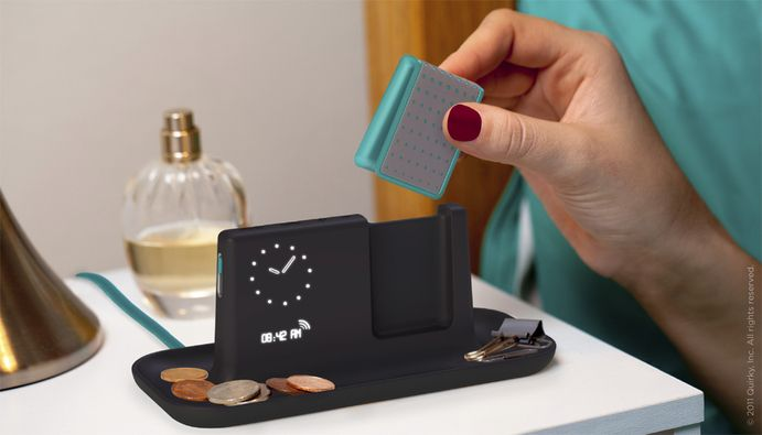 *GENIUS* Chirp is an alarm clock with a vibrating pillowcase clip to wake you up without disturbing anyone else in the room. Anyone who knows me, knows I totally need this!