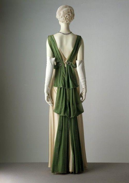 Evening Dress Paul Poiret, 1930s The Victoria & Albert...
