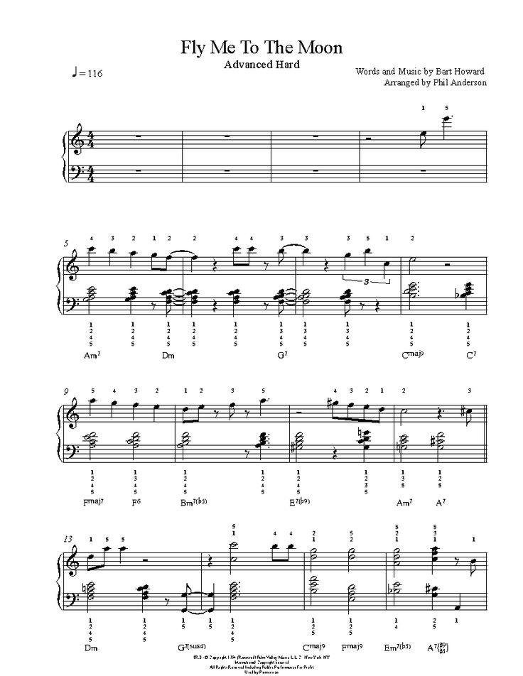 sheet music staff