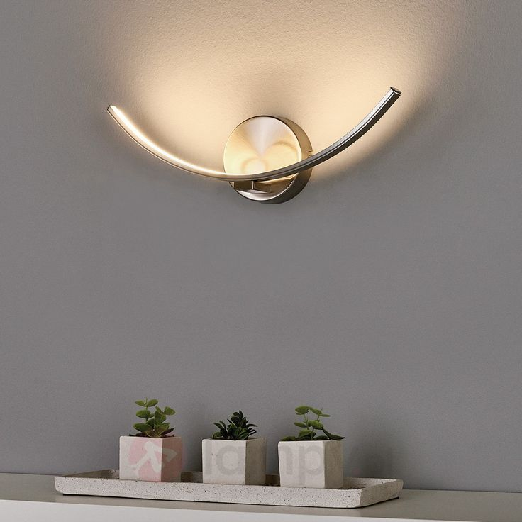 Wygięta lampa ścienna LED Iven 9985051