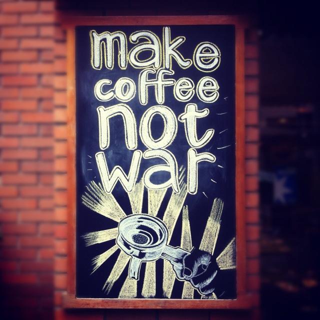 Wonderful Coffee Shops. Santiago, Chile.