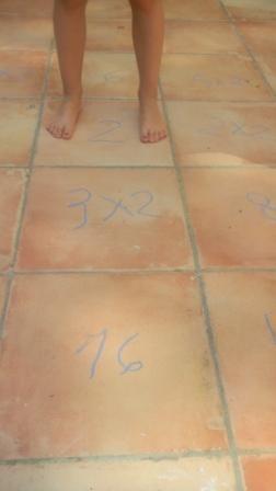 Les 74 meilleures images propos de activit s pour l 39 t for Table de multiplication en chanson