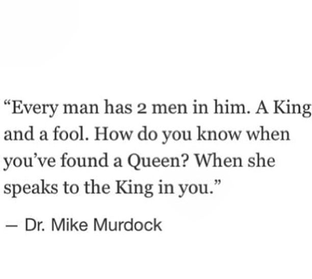 """Mike Murdock """"The King and the Queen"""" Quote"""