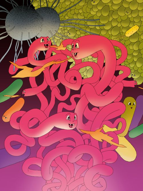 """Antibiotic"", illustration poster by Marko Turunen --------- POSTER LOVE! Just in time for Valentine's Day we added a new bunch of smashing posters to Napa's Print Store! Show some love to your dear ones and spoil them with beautiful posters illustrated by Napa's artists. For example a matt coated quality poster in size of 30 x 40cm for 29€ !! Click to our store to see sizes & prices, and of course the whole stylish collection of posters by the great Napa Talents!"