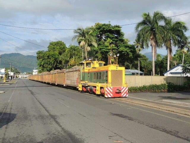 Sugar cane train at Mossman, Queensland Australia