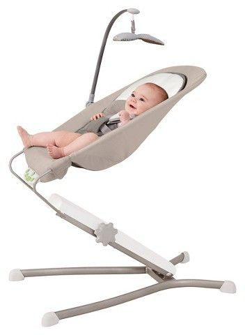 Skip Hop Uplift Multi-Level baby Bouncer - Gray